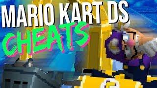 Mario Kart DS, nur... irgendwas mit Cheats.