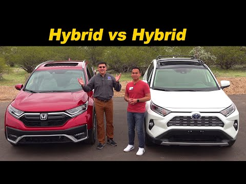 Hybrid Vs Hybrid | 2020 CR-V Vs 2020 RAV4