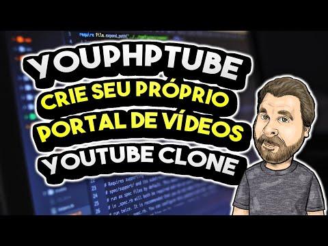 Crie SEU PRÓPRIO YOUTUBE ou PORTAL DE VÍDEOS (YouPHPTube)