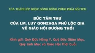 TÒA THÁNH ÉP BUỘC DÒNG ĐỒNG CÔNG PHẢI ĐỔI TÊN 1/2