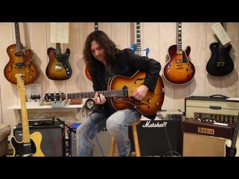 UpFront Guitars Presents: Scott Tarulli plays the Godin Kingpin P90