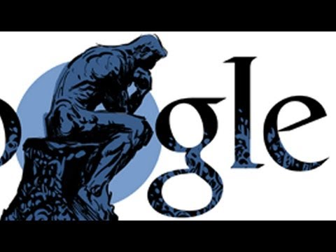 Auguste Rodin - Thinker Doodle