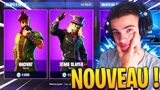 NEW SKIN DANS LE SHOP | JE VEUX DES TOP 1 Sur FORTNITE Battle Royale !!