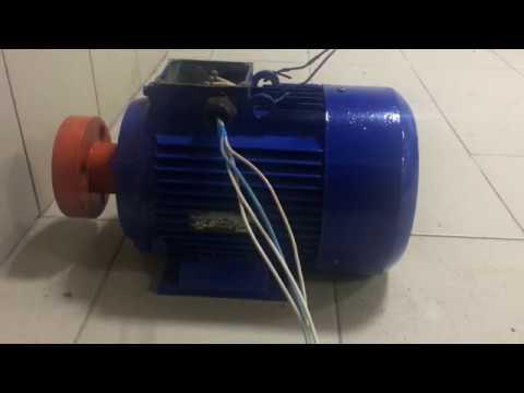 Электродвигатель 7,5 квт - подключение звездой и запуск от 380 вольт