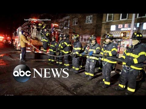 12 dead in massive New York City apartment fire