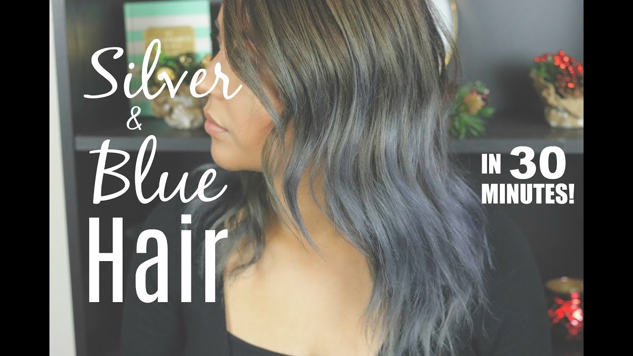 How To Get Silver And Blue Hair With Joico Color