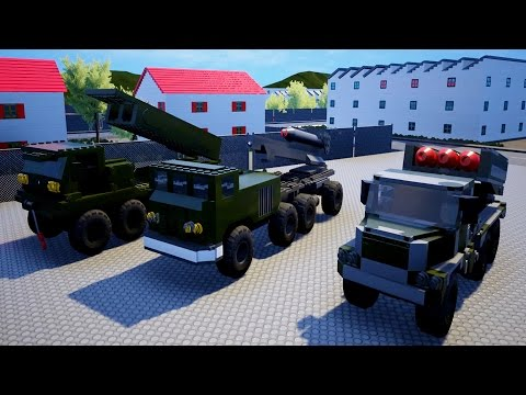 ROCKET LAUNCHER TESTING + FAILS! Huge Lego Like Explosions! - Brick Rigs Workshop Creations Gameplay