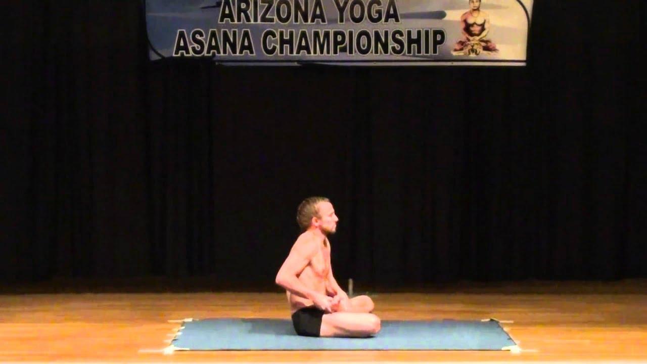 Jon Knoche 3rd Place 2010 Arizona Yoga Asana Championship Youtube
