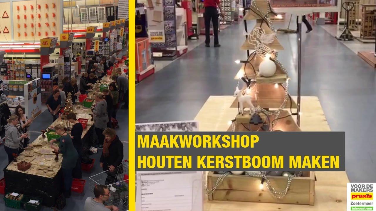 kerstboom praxis 2020 HOUTEN KERSTBOOM MAKEN #maakworkshop   YouTube