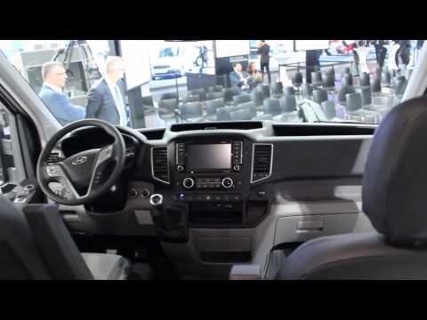 Hyundai H350 презентация в Ганновере на IAA 2014