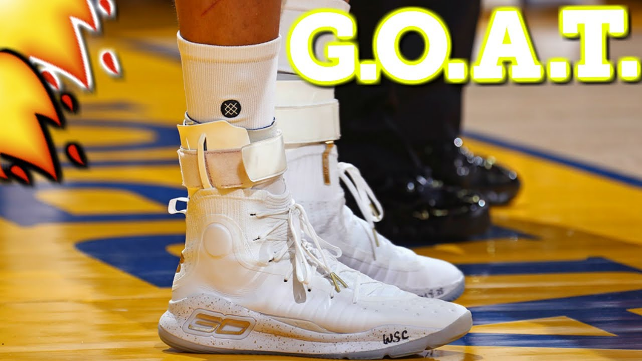 937278332d9c DOES STEPHEN CURRY HAS THE BEST SHOE IN 2017!  CURRY 4 s 2017 GAME 1 ...