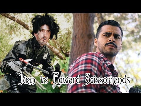 Juan vs Edward Scissorhands | David Lopez