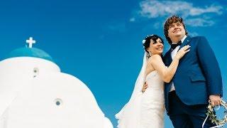 Венчание на Кипре в храме Святого Николая Алёны и Александра