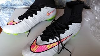 NIKE MERCURIAL SUPERFLY BLANCAS ALIEXPRESS UNBOXING REVIEW