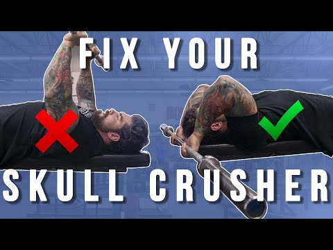 8 Skull Crusher Mistakes and How to Fix Them