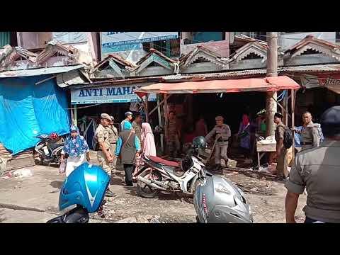 PKL Pasar Minggu Ditertibkan