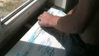 монтаж подоконника \ установка подоконника(, 2010-10-24T16:12:29.000Z)