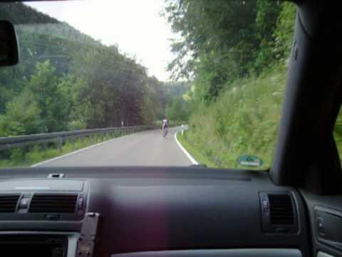 Skoda Octavia II RS TDI (2009) road trip in Southern Germany