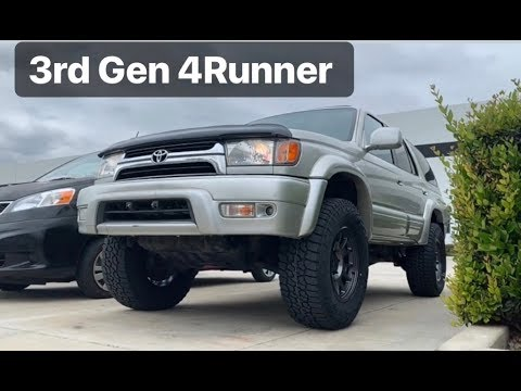 "3rd Gen Toyota 4Runner 3"" Lift on 285/70/17 Tires"
