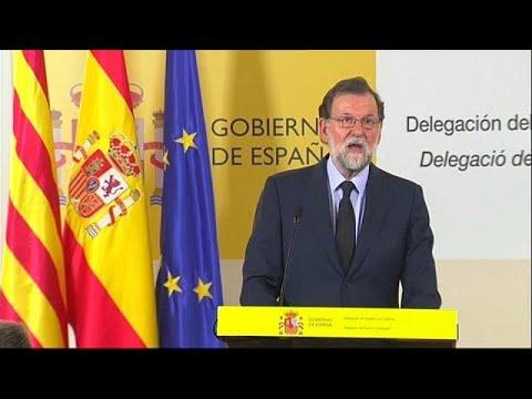 "Rajoy dice que España sabe que al terrorismo ""se le vence"""
