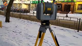 Видео обзор сканирующего тахеометра Trimble SX10 ДелГео