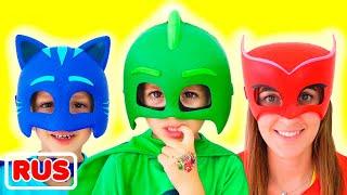 Влад становится супергероем в маске и помогает друзьям