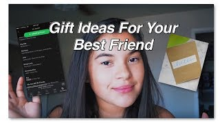 Gift Ideas For Your Best Friend//grace Montes