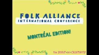 First-Timer's Guide (Montreal 2019) Folk Alliance International