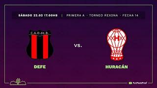 Defensores 2 - 1 Huracán | #VamosLasPibas | Fútbol femenino