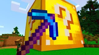 MAIOR LUCKY BLOCK DO MINECRAFT! (GIGANTE)