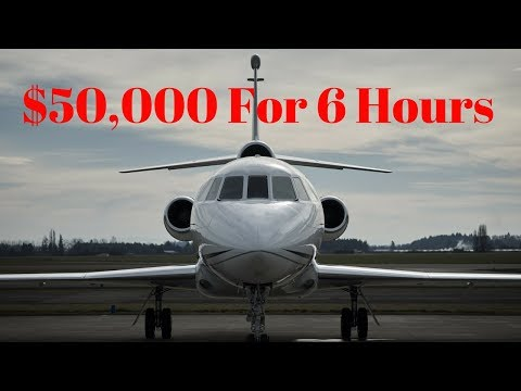 What I Learned About Spending $50,000 On A Private Jet!