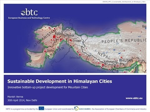 WEBINAR: Sustainable Development in Himalayan Cities