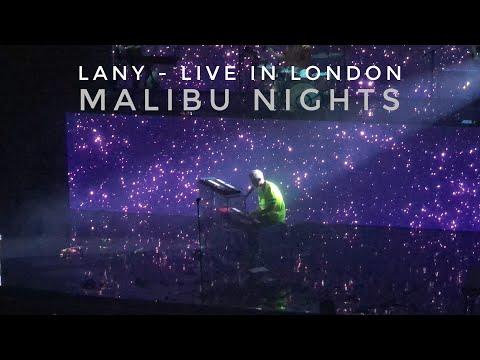 LANY - Malibu Nights (Live In London O2 Forum 08.10.18)