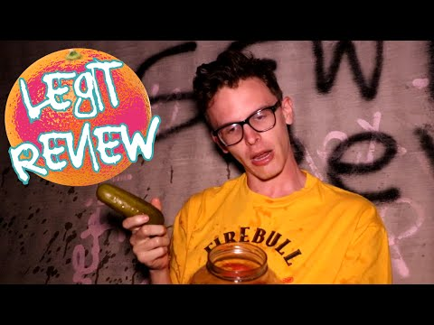 LEGIT FOOD REVIEW - Sewer Pickles