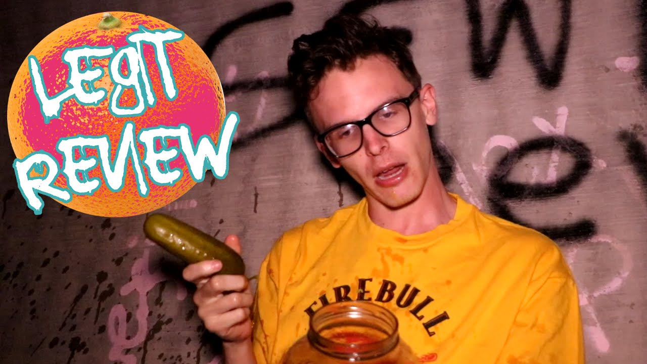 Legit Food Review Sewer Pickles Youtube