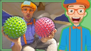 Blippi at a Children