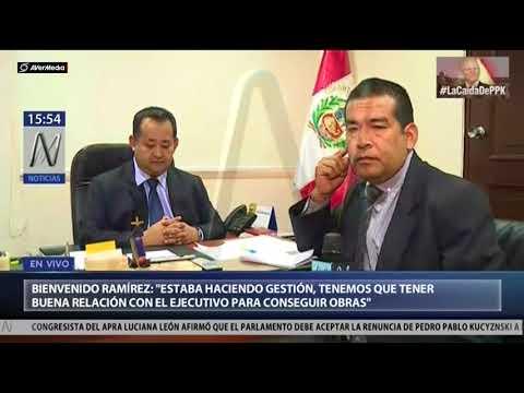 Bienvenido Ramírez para Canal N