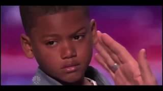 "Kid Raps Blueface ""Thotiana"" On Americas Got Talent! Hilarious"