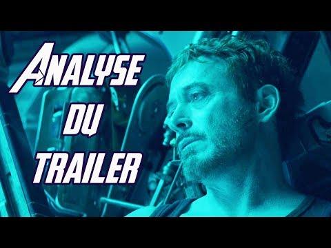 Avengers 4 ENDGAME : analyse ultime du trailer