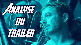 Avengers 4 ENDGAME : analyse ultime du trailer