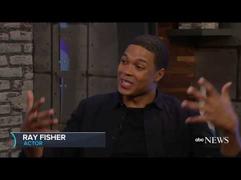 'Justice League' star Ray Fisher on movie and his character Cyborg