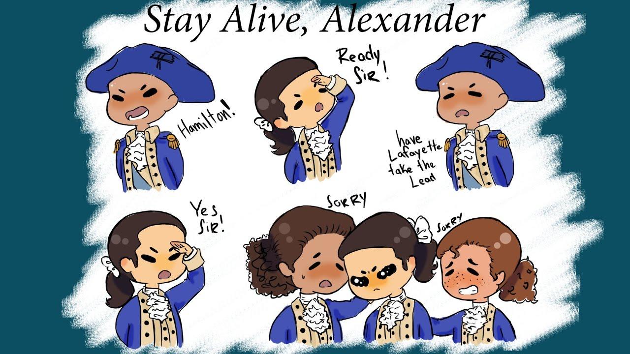 Stay Alive Alexander Hamilton Clip Youtube