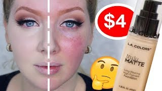 Drugstore Foundation Review  L.A. Colors Truly Matte