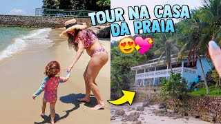 TOUR NA CASA DA PRAIA!