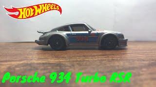 Porsche 934 Turbo RSR (Hotwheels Car Review)