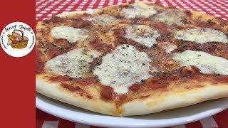 Margarita pizza tarifi | Pizza hamuru nasıl yapılır