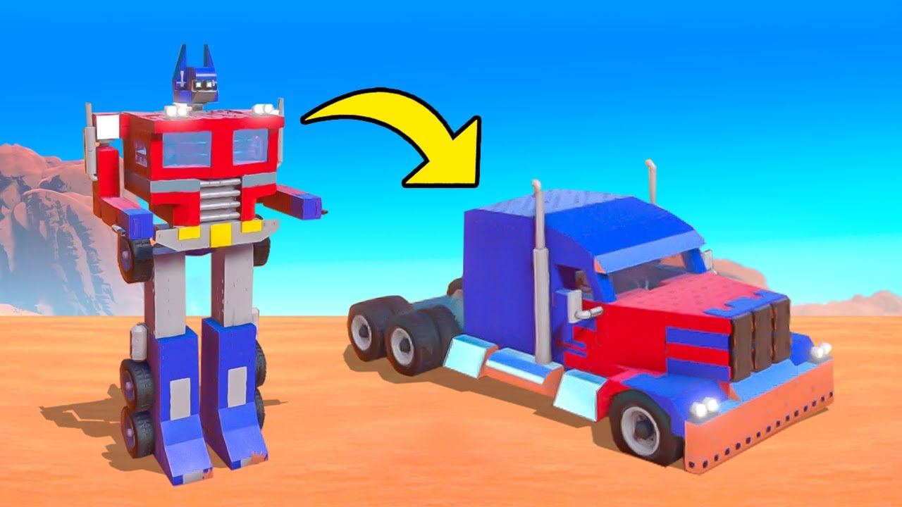 BUILDING THE BEST TRANSFORMING VEHICLE CHALLENGE