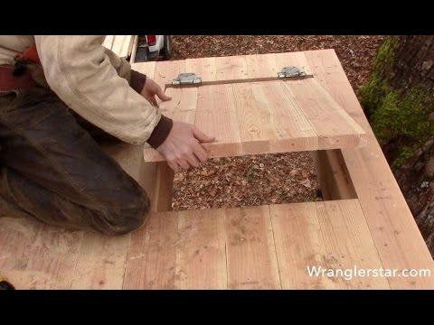 Treehouse Secret Trap Door | 15  Wranglerstar