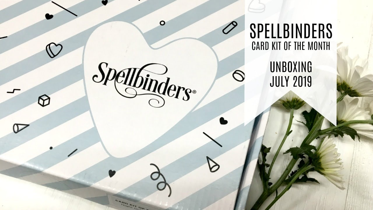 Spellbinders / Card Kit of the Month July 2019 / Shellebrate - Thủ
