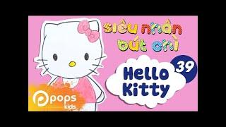 Hướng Dẫn Vẽ Hello Kitty - Siêu Nhân Bút Chì - Tập 39 - How To Draw A Hello Kitty